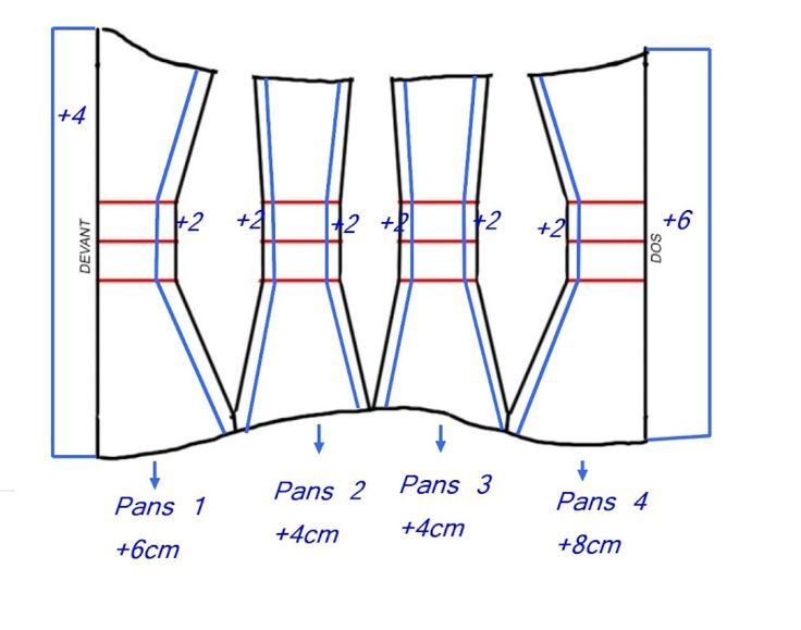 tuto corset serre taille bustier me myself and i pinterest. Black Bedroom Furniture Sets. Home Design Ideas
