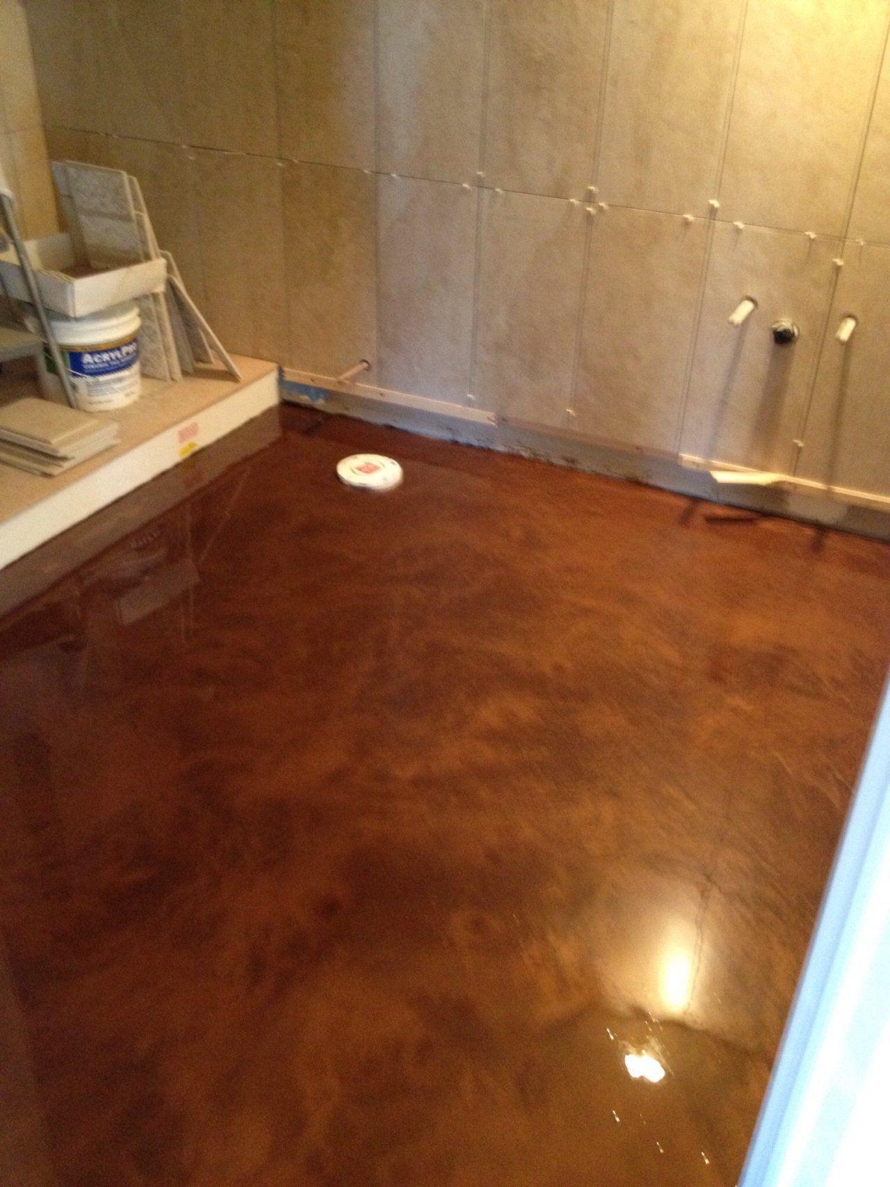 Metallic marble epoxy bathroom in elgin illinois basement floor metallic marble epoxy bathroom in elgin illinois solutioingenieria Images