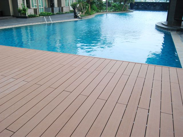 building a pool deck for 24 foot pool | Pool Deck & Swimming Deck