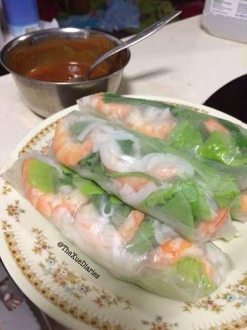 Resep Lumpia Segar Vietnam Vietnamese Summer Spring Rolls Oleh Thexuediaries Resep Lumpia Semarang Makanan Makanan Vietnam
