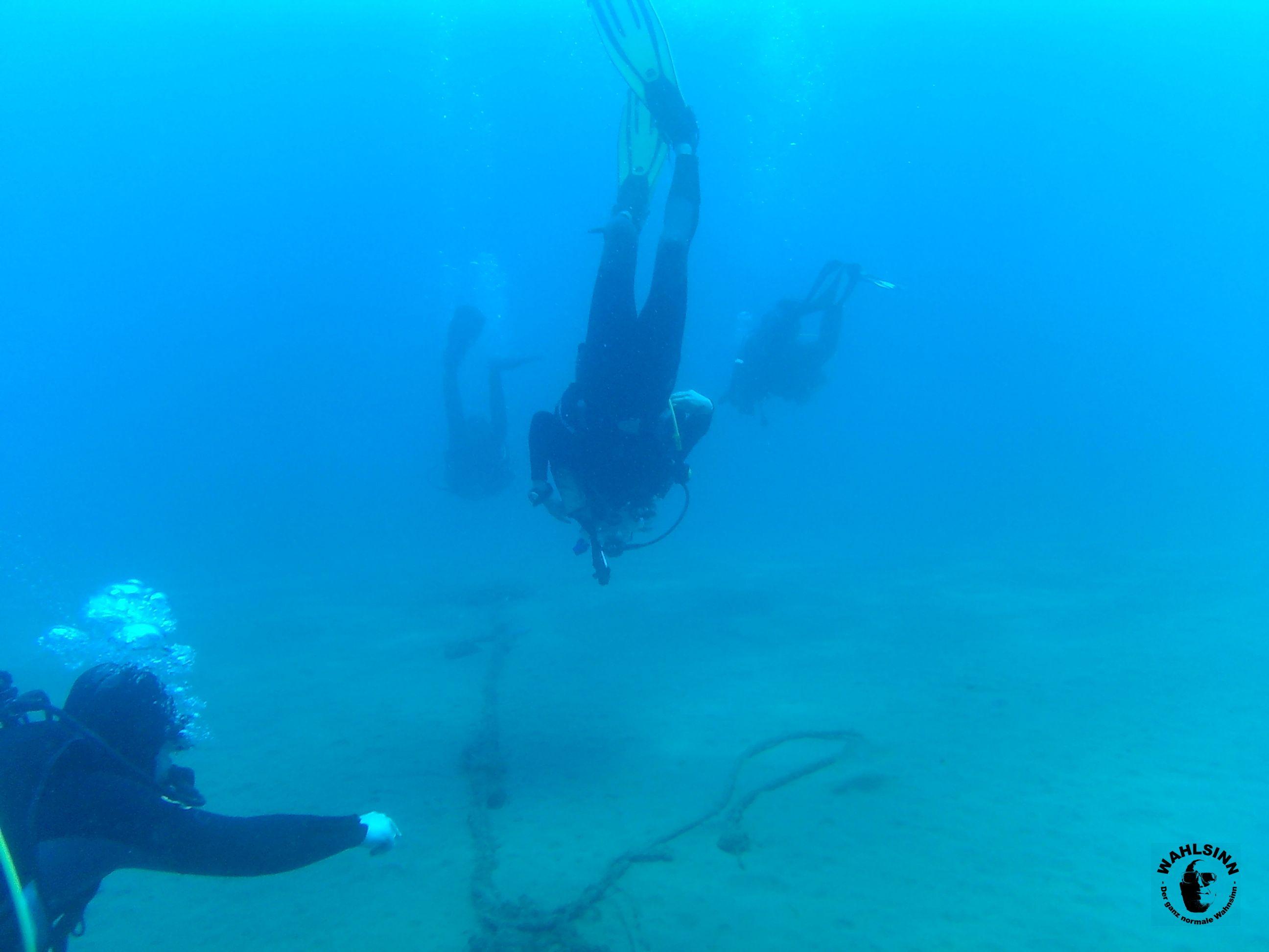 Tauchen Lanzarote - Playa Chica - Einmal Tiefgeschoss bitte