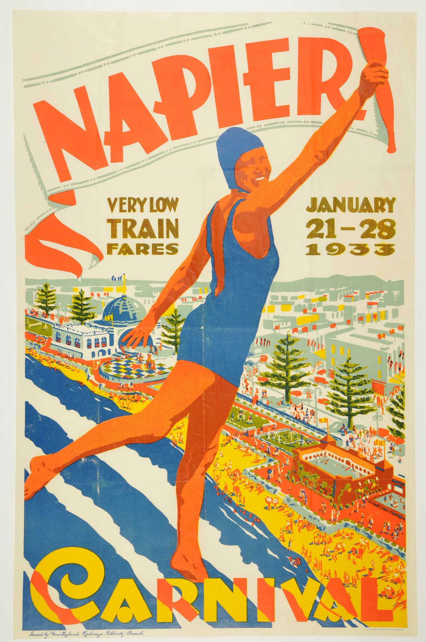 New Zealand Vintage Posters
