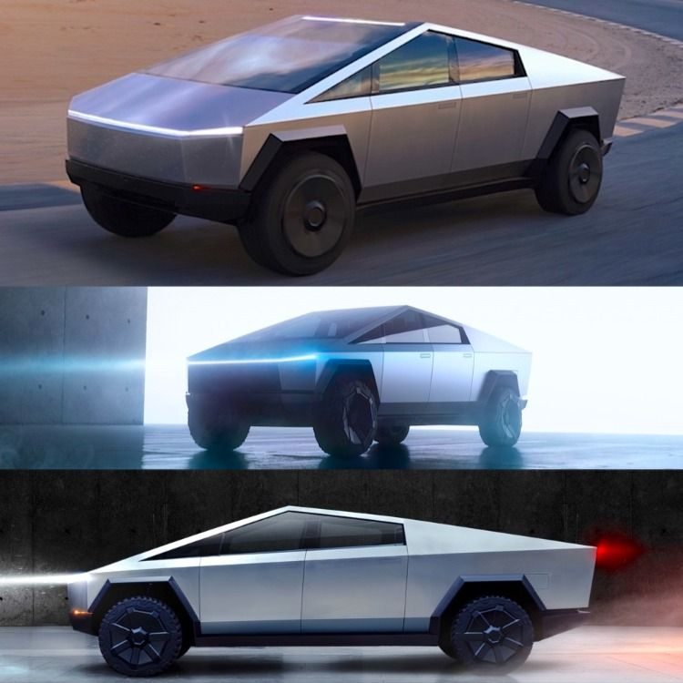 Everyone Is Waiting For The Cybertruck Futuristic Design Electric Car Concept Electric Vehicle Charging