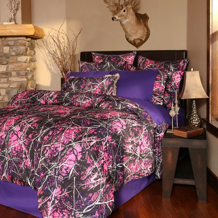 Pink Camo Bedding Set Made With Muddy Girl With Images Girls