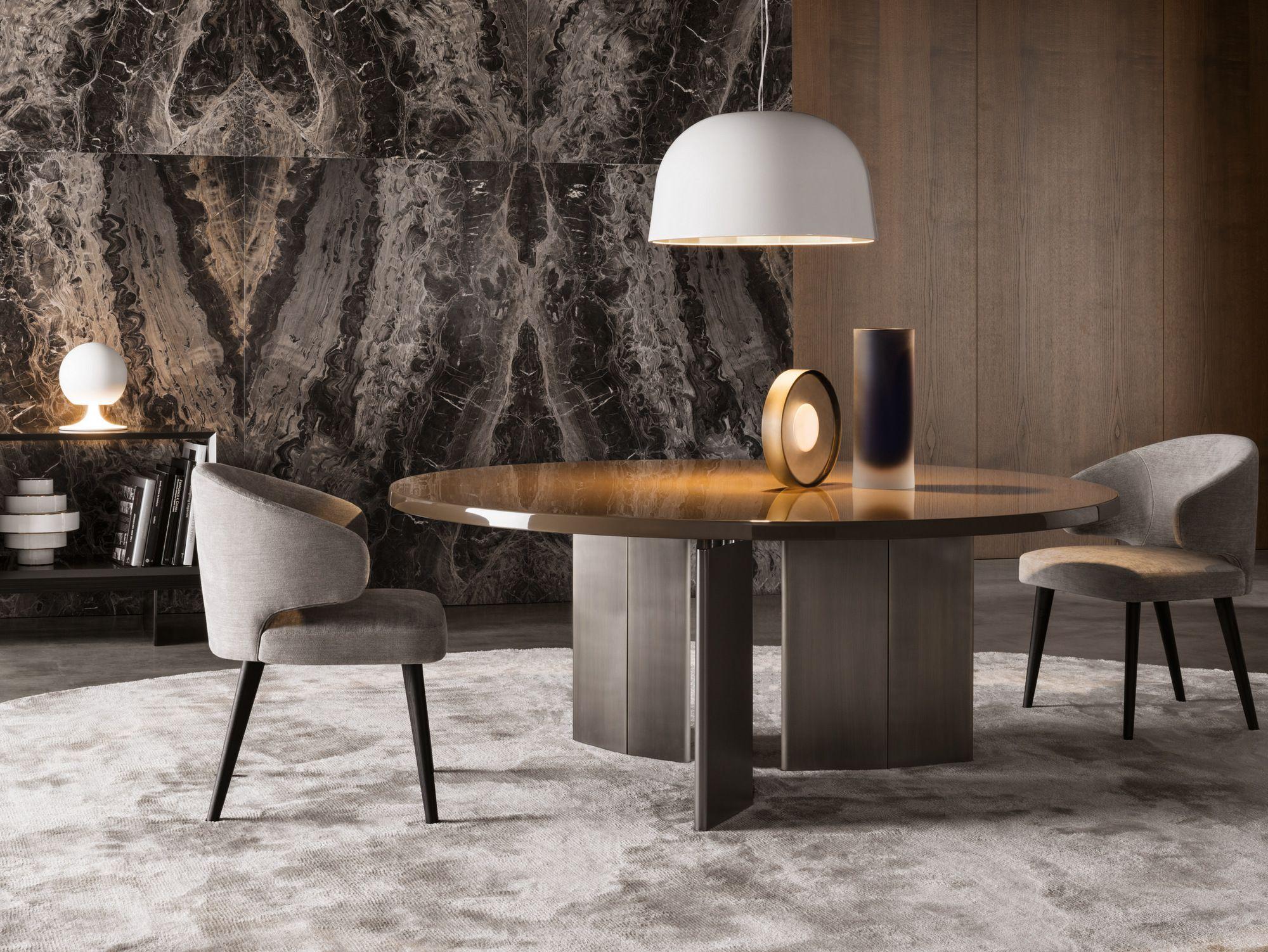 Morgan Round Table By Minotti Design Rodolfo Dordoni Furniture