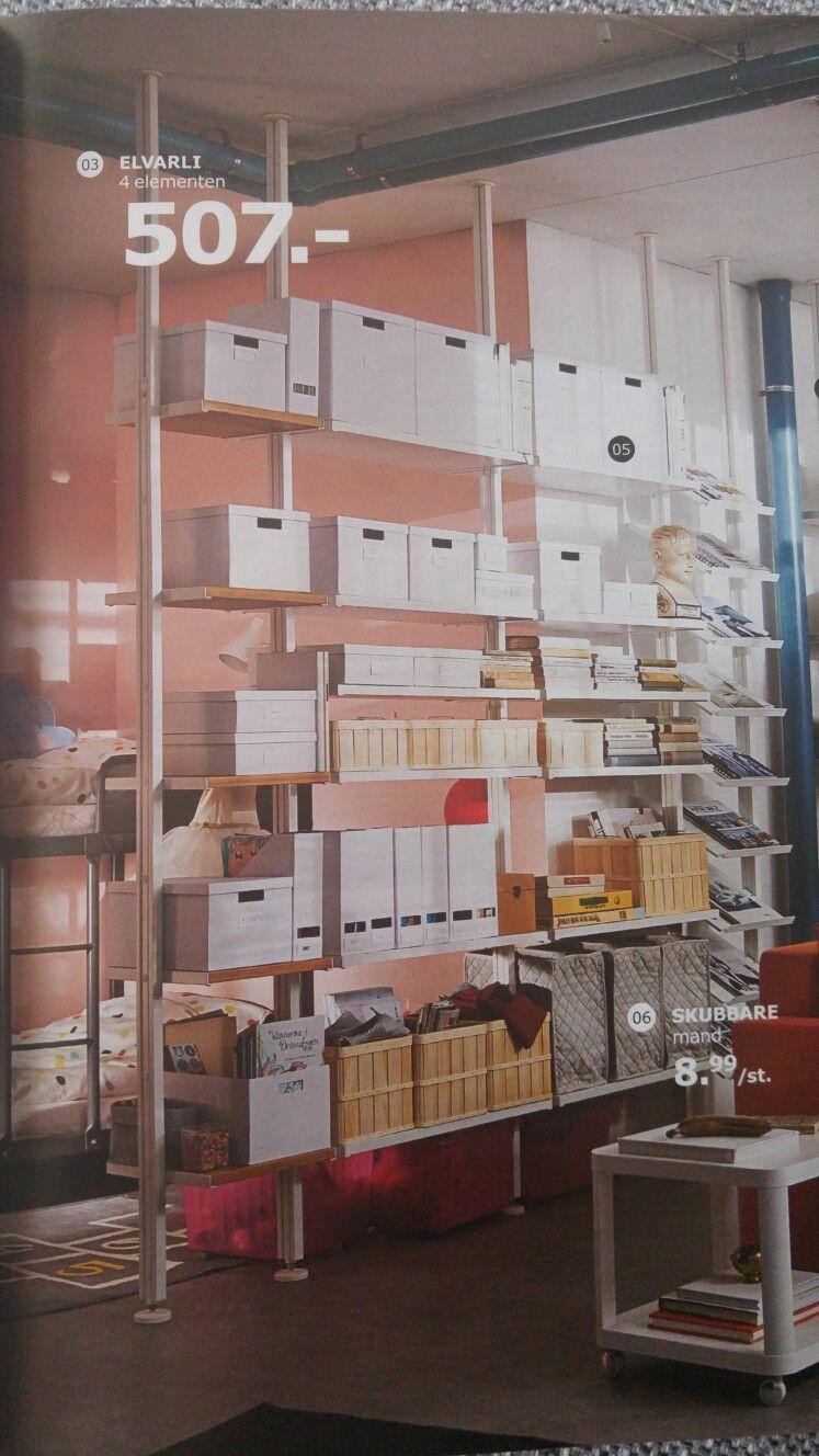 Open Kast Meubel Als Een Roomdevider Elvarli Ikea