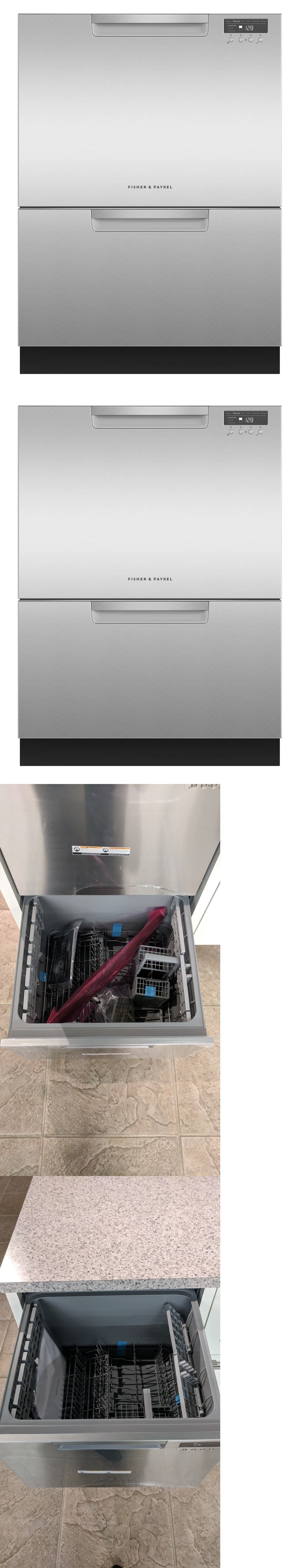 Dishwashers 116023 Fisher And Paykel Dd24dctx9 24 Inch Double