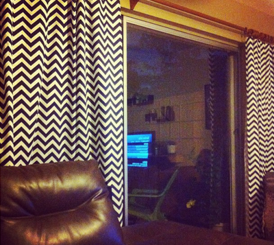 First Name Smith: Fulfilling a DIY curtain promise