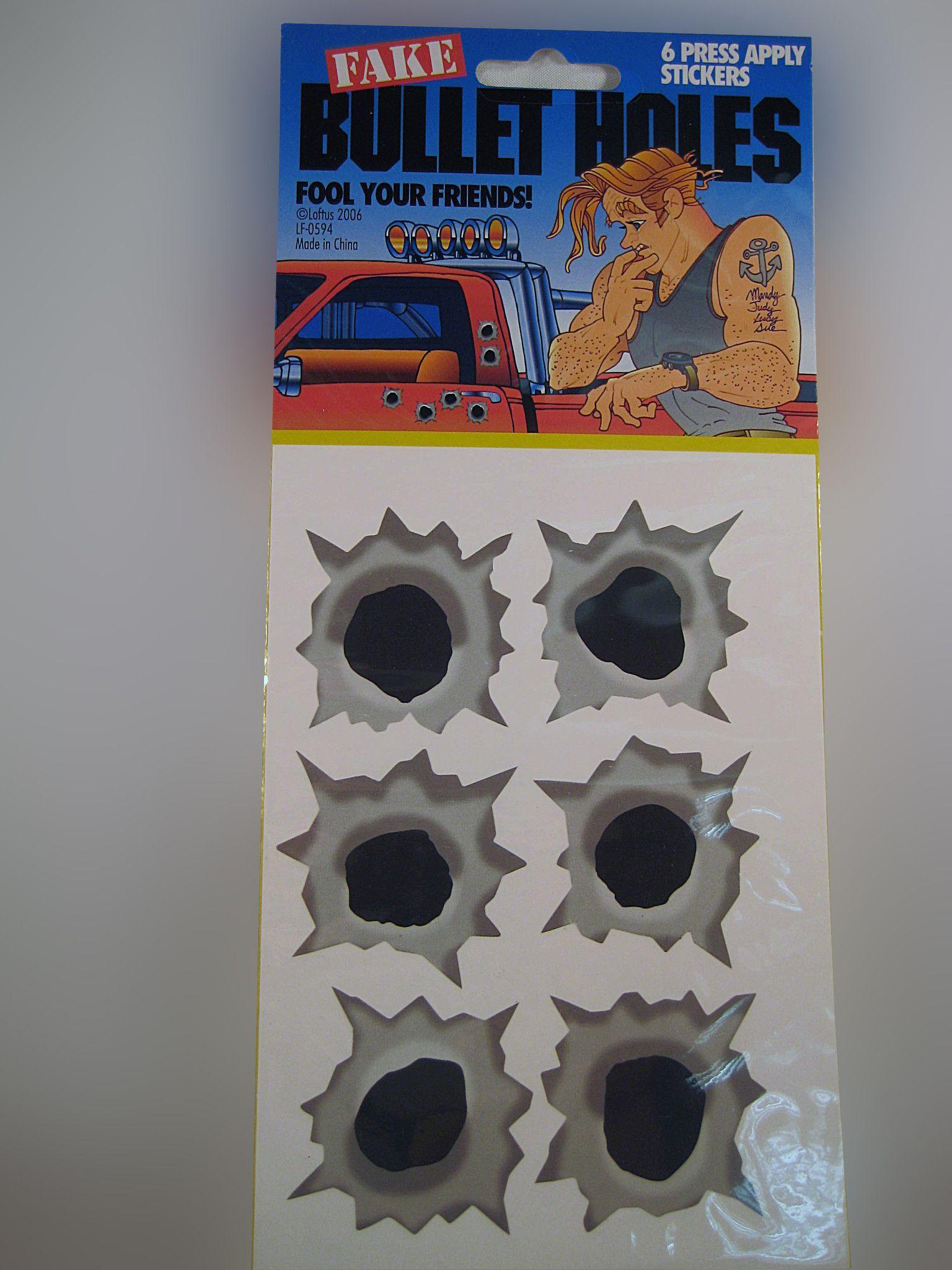 Car Prank Kit Good Pranks Pranks Bullet Holes [ 2048 x 1536 Pixel ]