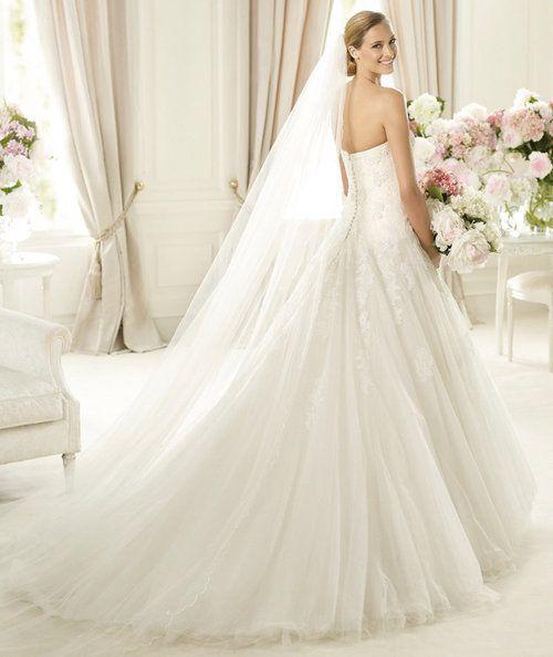 2014 Pronovias Glamour Barroco Bridal Couture Of Birmingham Contender