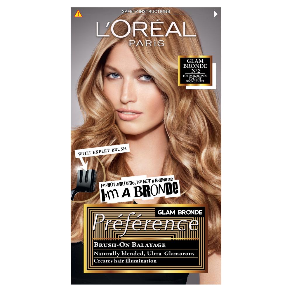 Buy L Oreal Paris Preference Glam Bronde No2 Hair Dye 1 Kit Loreal Loreal Paris Dyed Hair