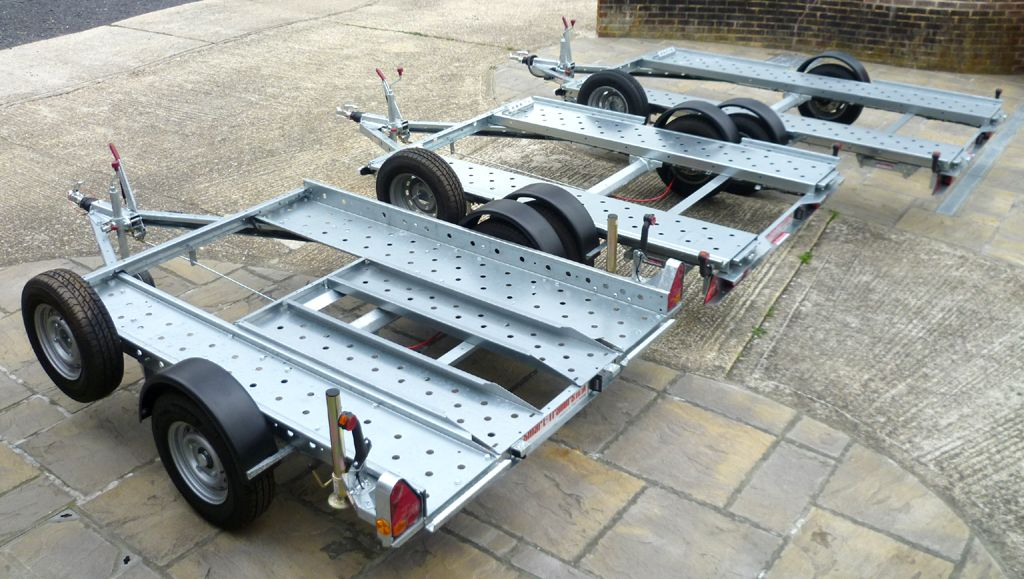 Galvanised Car Transporter Trailers by SmartTrailers