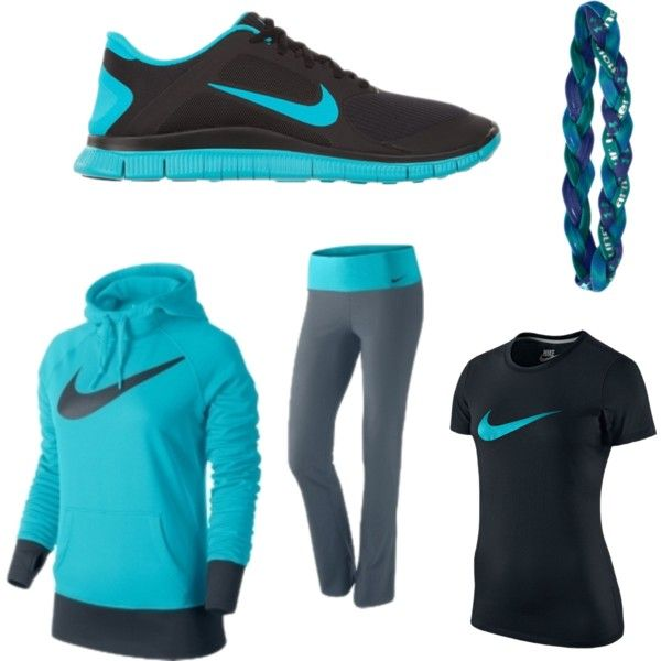 #nike #underarmour #women'sfashion - A Fashion Look From March 2014 Featuring NIKE, Only Play And NIKE