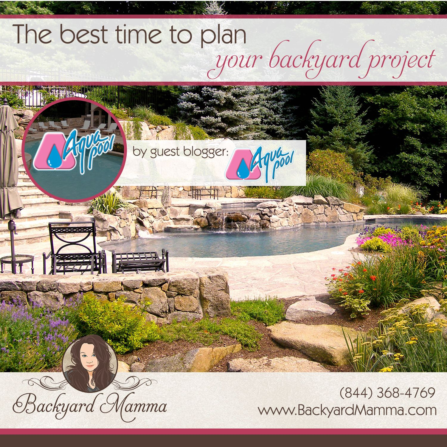 The best time to plan your backyard project with Aqua Pool & Patio
