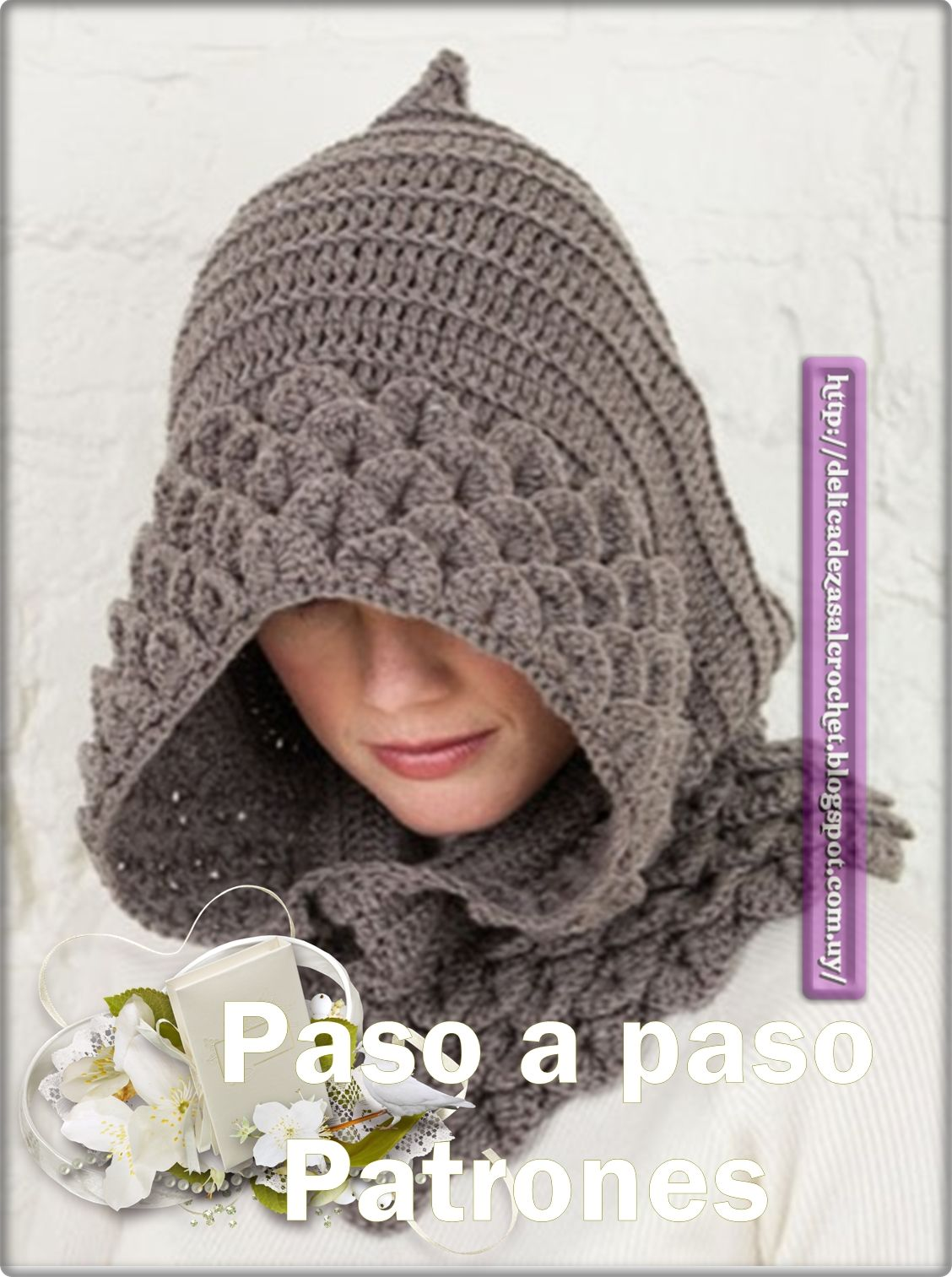 Ideas para el hogar: Capuchas dos agujas y crochet | Gorros ...