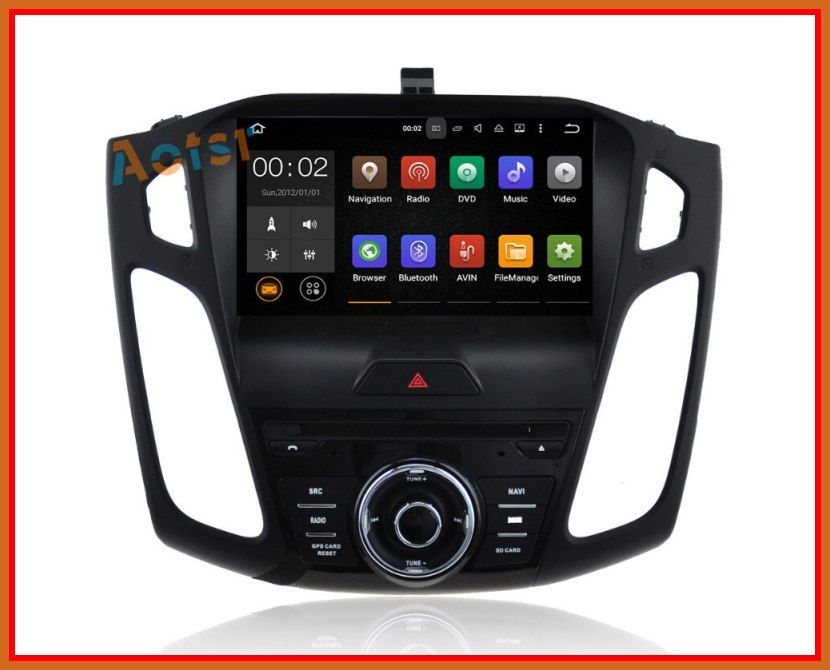 Hot Latest Android 7 1 Car Dvd Player Gps Navigation For Ford Focus 3 2012 2013 2014 2015 With Bt Wifi Gps 2020 In 2020 Gps Navigation Car Navigation Car Audio