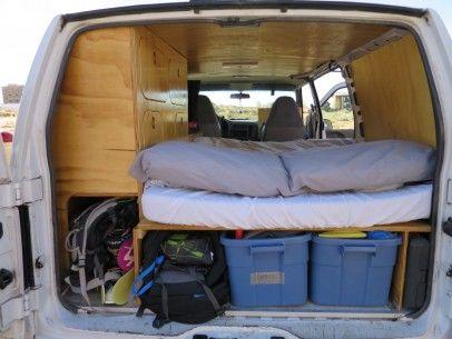 Good CarMa in BC - Our sweet campervan GMC Safari | Off Grid