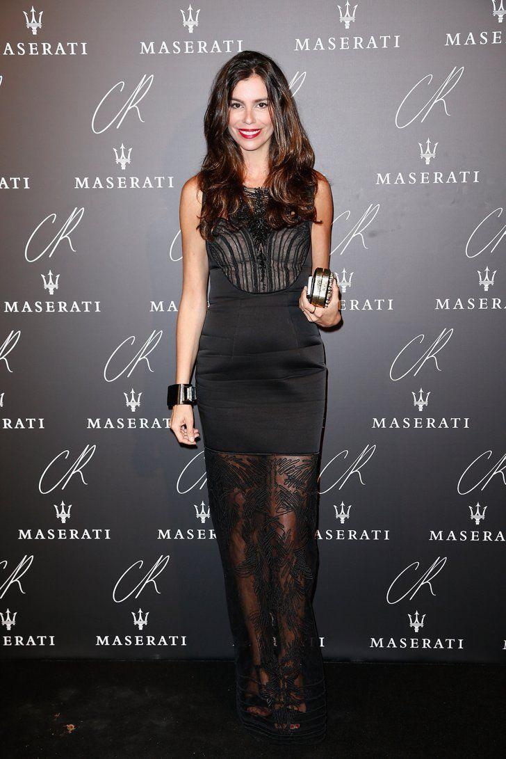 Pin for Later: Ratet mal was der Dresscode bei der größten Party der Pariser Modewoche war Christina Pitanguy Behaltet Christina besser im Auge, denn anscheinend hatte auch sie die Notiz erhalten.