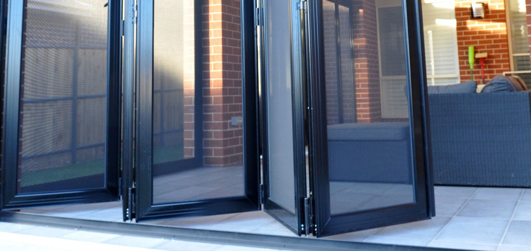 Crimsafe bifold security doors security screen