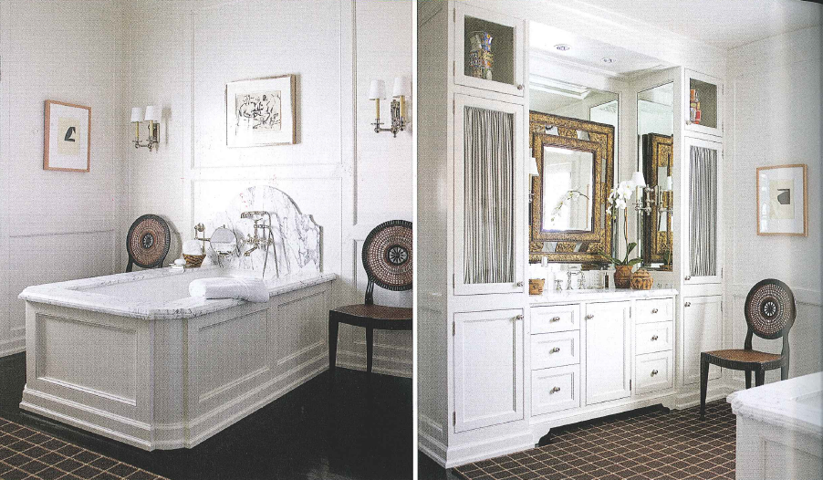custom bathroom | Architectural digest, Custom bathroom ...