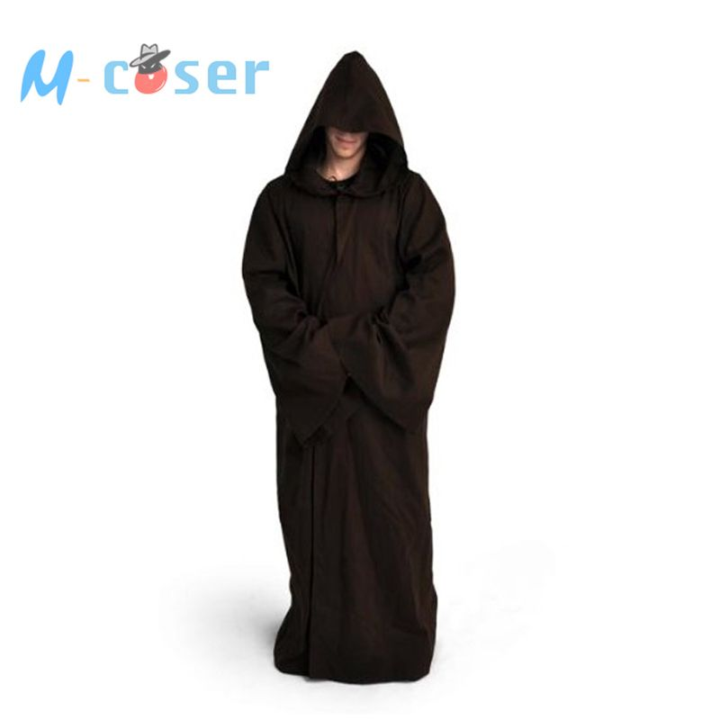 Star Wars Jedi Robe Darth Vader Terry Cosplay Costume Jedi Cloak ...