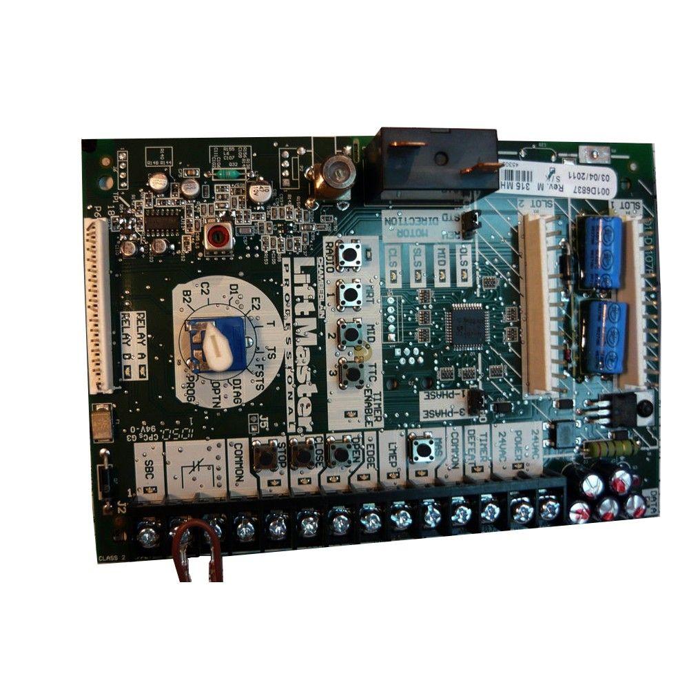 Liftmaster K1a6837 Logic 4 Commercial Garage Door Opener Circuit