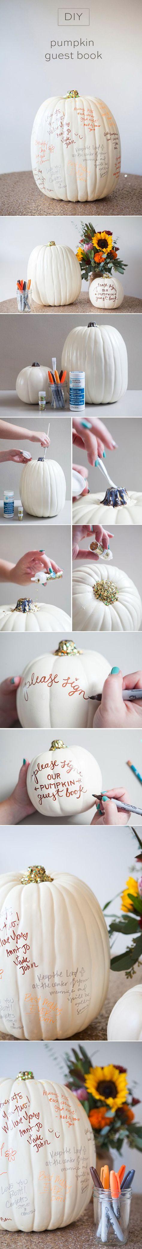 Diy halloween wedding decorations   DIY Halloween Wedding Decoration Ideas with Pumpkins  One year