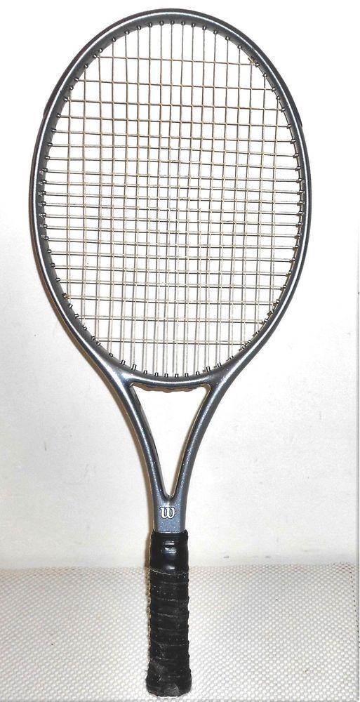 Wilson Profile 3 6si Dual Taper 110 Sq In Tennis Racquet West Germany Grip 5 Tennis Racquet Tennis Racquets