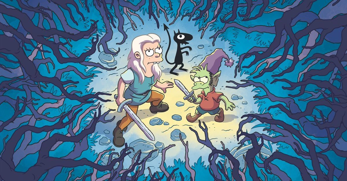 Here's the first trailer for Disenchantment, Matt Groening's animated Netflix show - The Verge