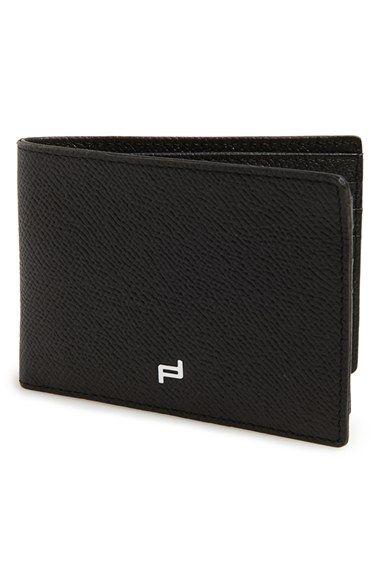 Porsche Design 'FC 3.0' Leather L-Fold Wallet | bag | Pinterest