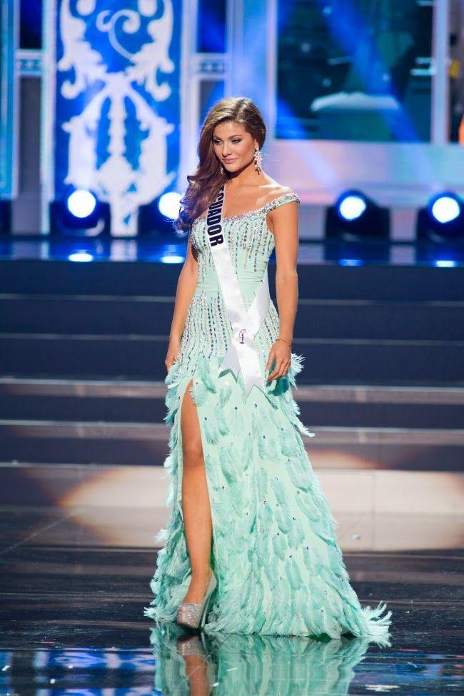Elección Miss Ecuador 2013 | El Diario Ecuador | HERMOSOS VESTIDOS ...