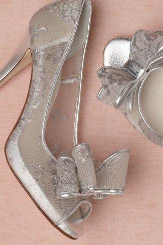 Mercury Peep-Toes wedding shoes