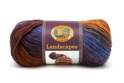 Lion Brand Landscapes Yarn - Mountain Range