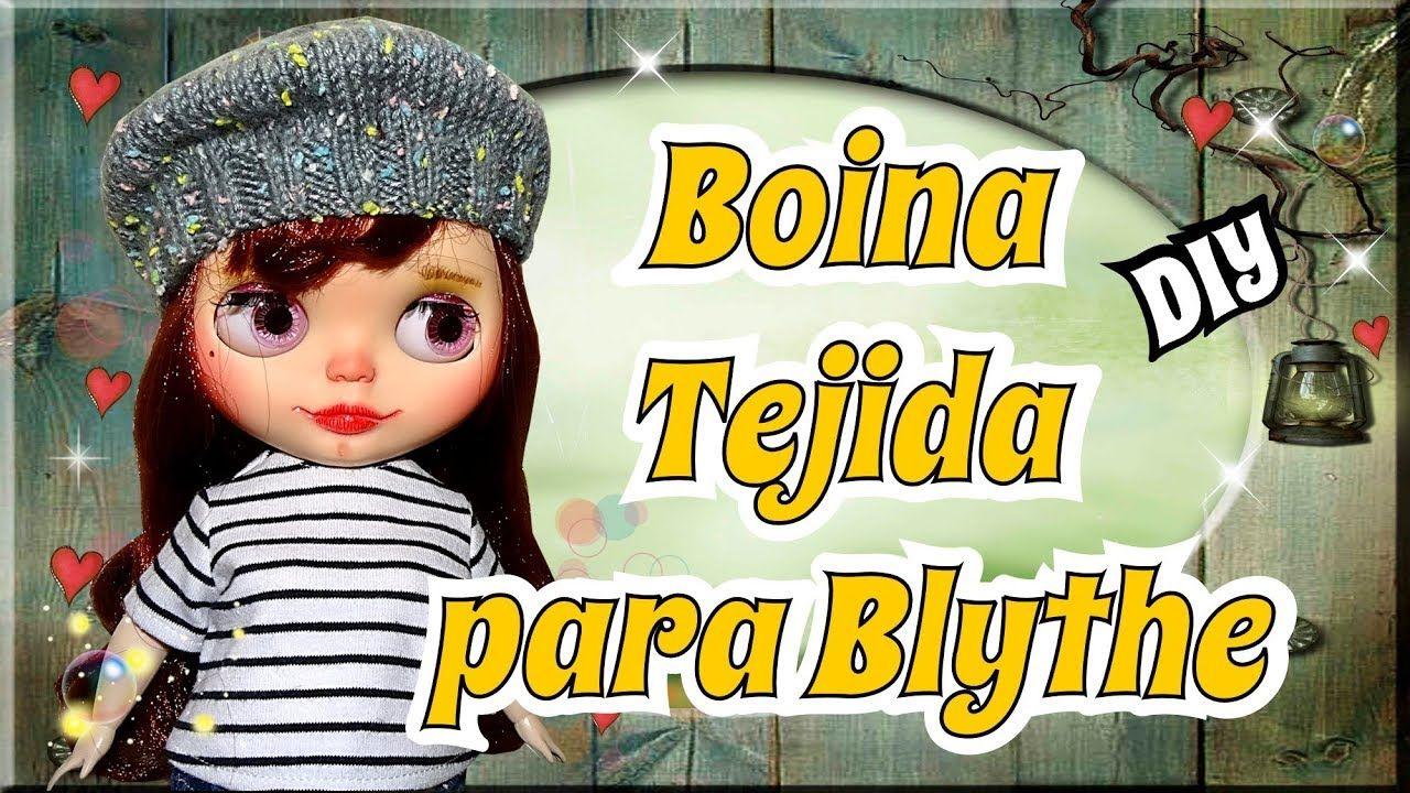 Como hacer un Boina para tus muñecas Blythes con 2 agujas - Tutorial fac. 153084138a6