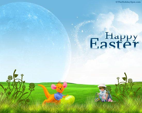 Windows 7 Easter Desktop Theme Desktop Themes Easter Wallpaper