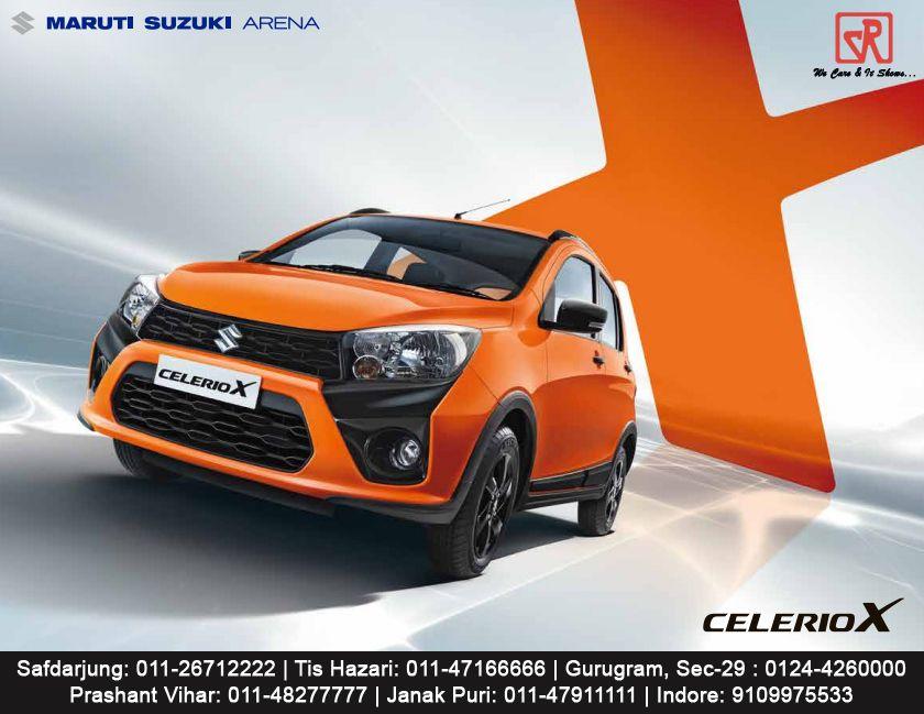 Maruti Suzuki Celeriox Suzuki Driving Experience Car
