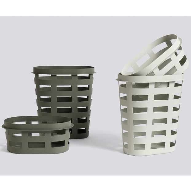 S Laundry Basket Khaki Hay Design Adult