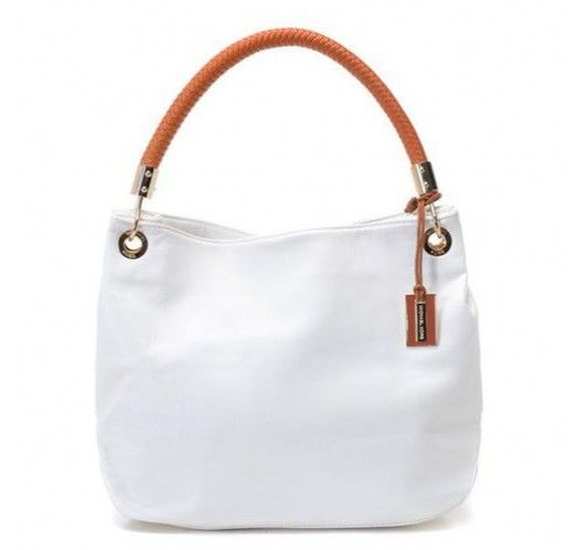 Michael Kors Collection Medium White Shoulder Bags [mk_1617]