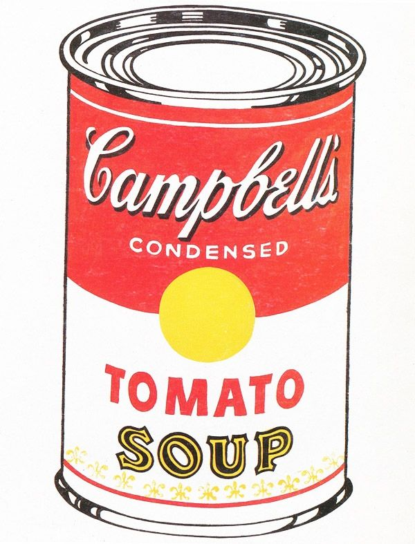 Andy Warhol Campbell S Soup Can 1962 Oil On Canvas 50 8 X 40 6 Cm Campbell S Soup Cans Andy Warhol Campbell Soup
