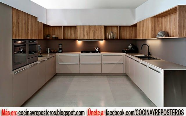 Cocinas angulares para espacios grandes cocina for Cocinas grandes