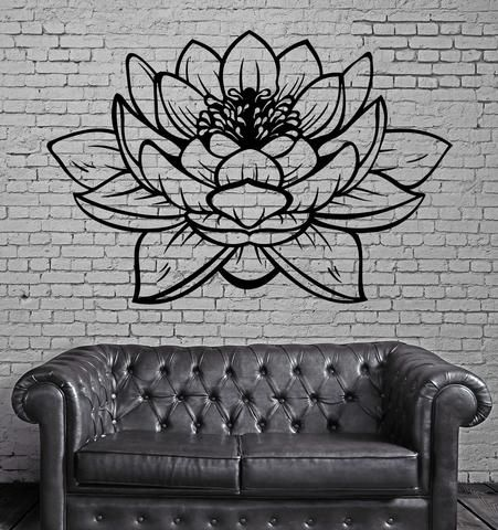 Home & Garden Official Website Zooyoo Buddha Wall Stickers Yoga Pose Meditation Relax Floral Wall Decals Diy Removable Home Decor Vinyl Sticker Elegant Shape Home Decor