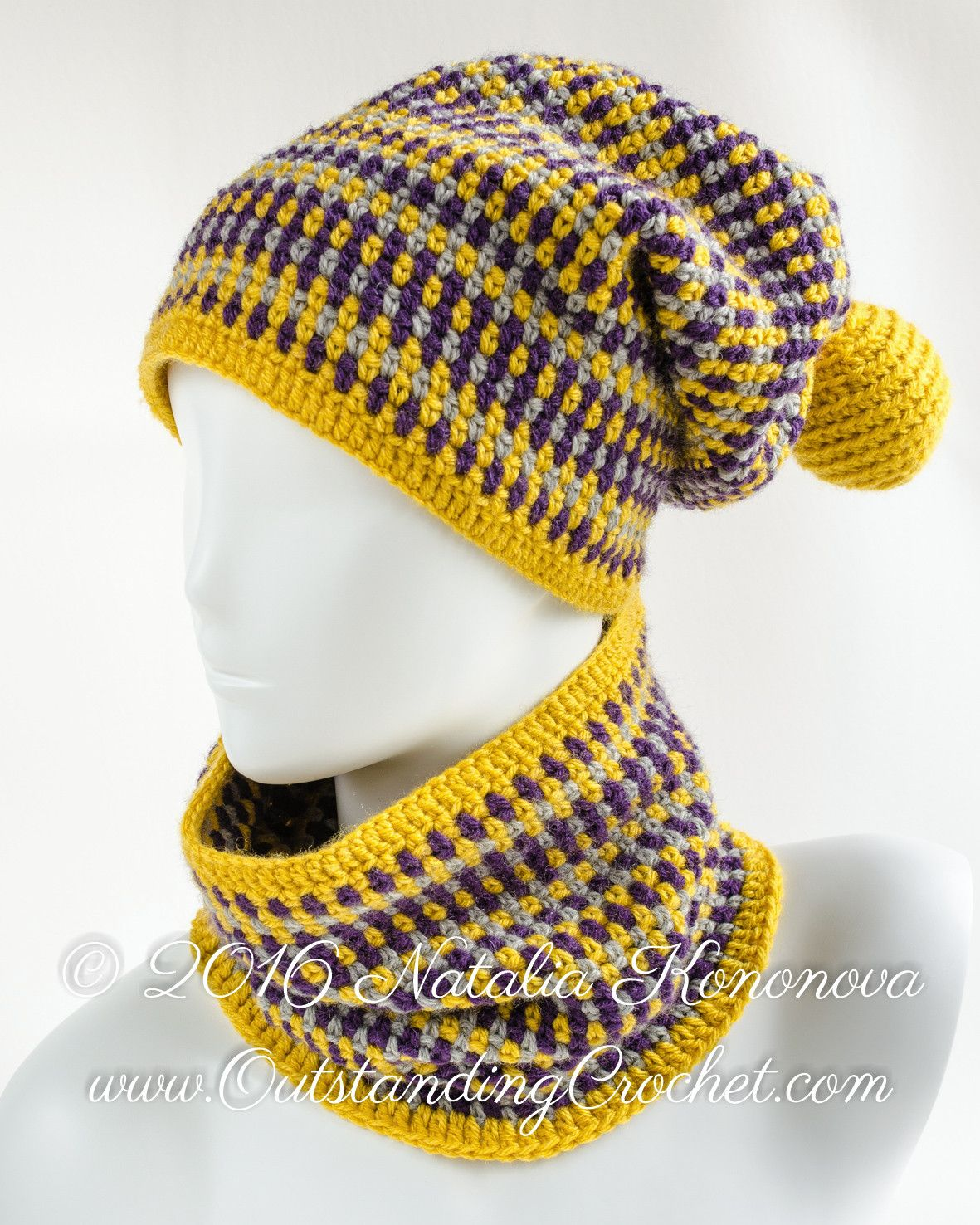 Crochet patterns from head to toes be designer Natalia Kononova at ...