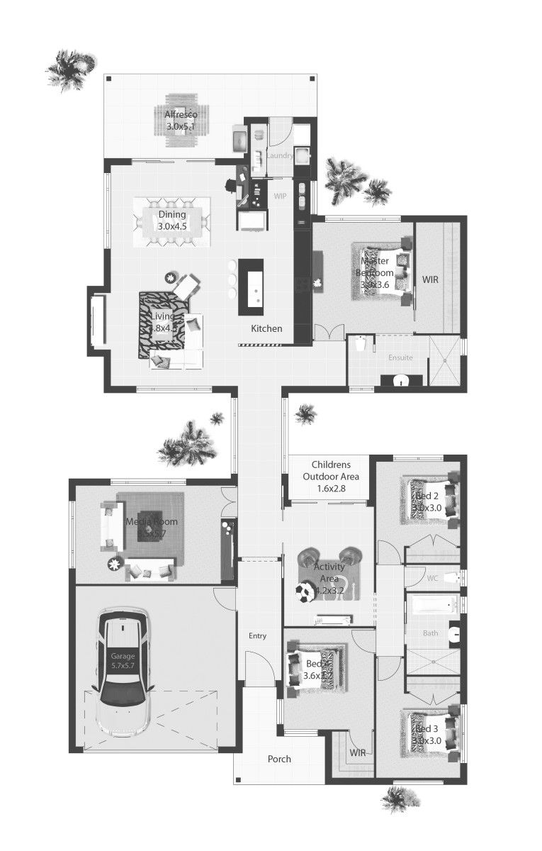 Sapphire Dream House Plans New House Plans House Design