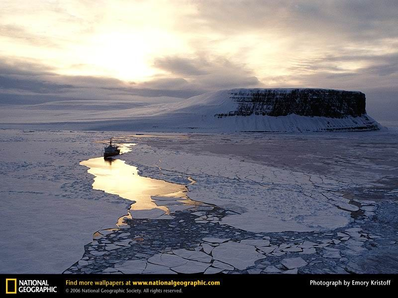 Some photos from National Geographic Arctic ocean, Ocean