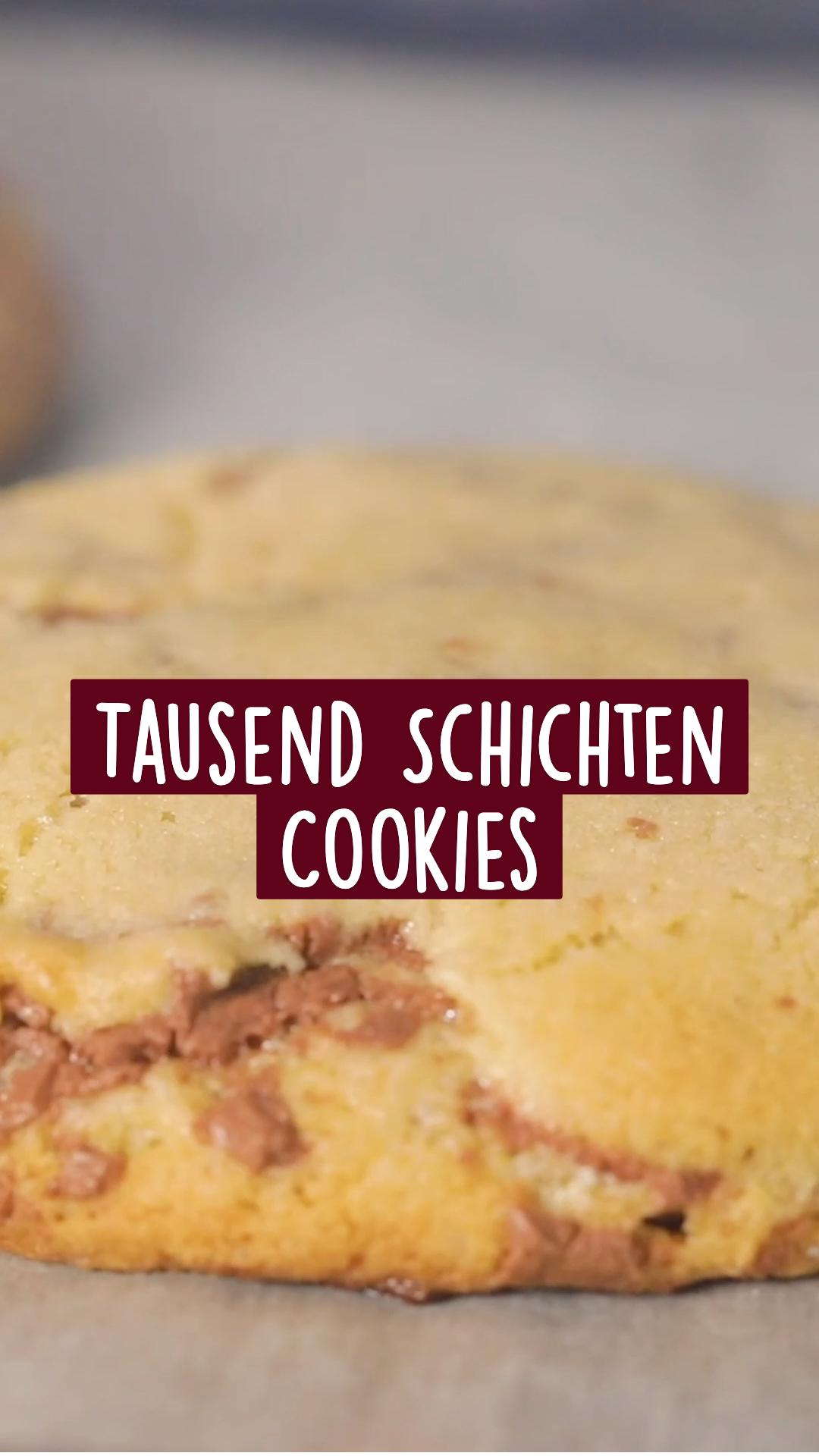 Tausend Schichten Cookies