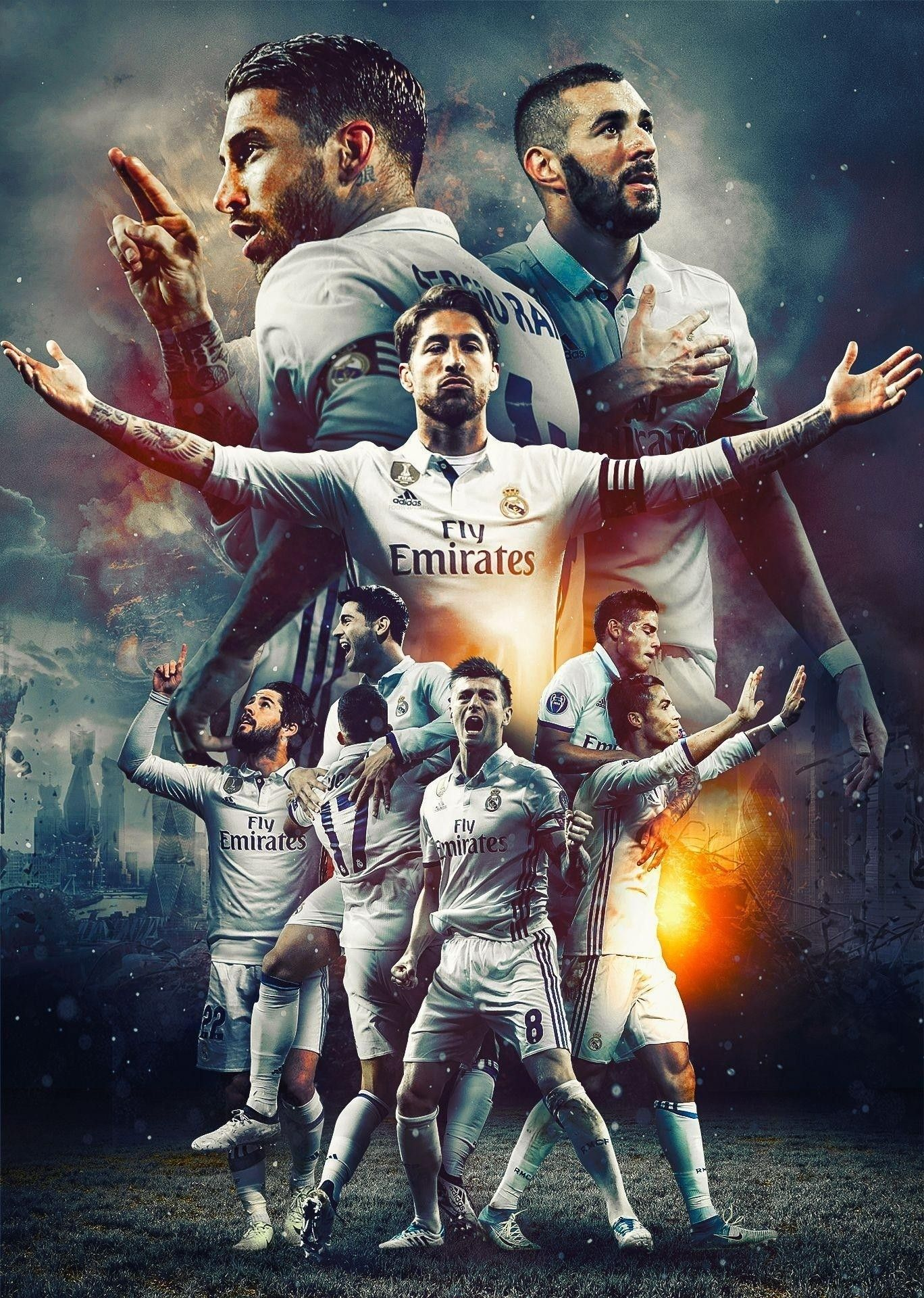 Real Madrid Wallpaper Hd 2019 Hd Football In 2020 Real Madrid Wallpapers Ronaldo Real Madrid Real Madrid Football
