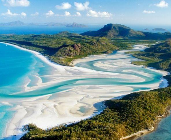 White heaven beach - Australia