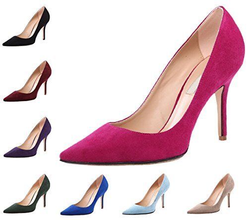 HooH Damen Flanell Pointed Toe Stiletto Pumps 012 - http://on-line-kaufen.de/hooh/hooh-damen-flanell-pointed-toe-stiletto-pumps-012