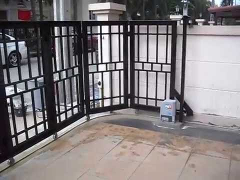 Remote Control Gates Automatic Sliding Gates