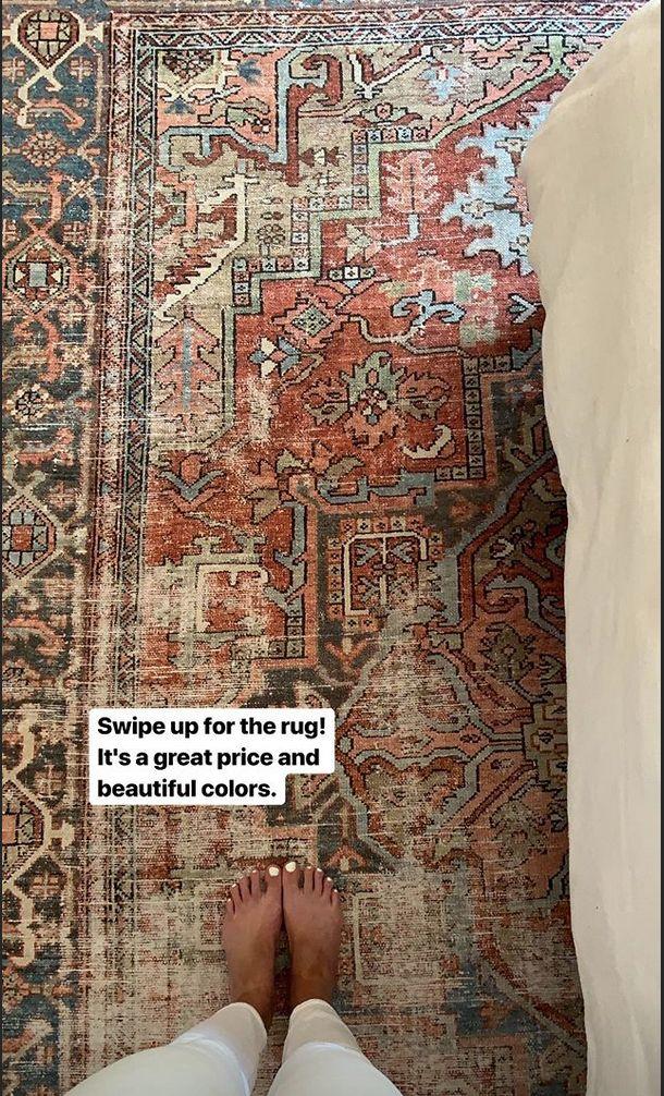 Bloomsbury Market Rug Terracotta And Sky Rugs In Living Room Rugs On Carpet Living Room Carpet